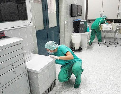 Reinigung Luzern Operation Saal