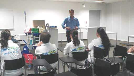 Reinigungsfirma Schulung der Reinigungsfirmen