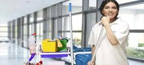 Reinigungfirma bie Unterhaltsreinigung Poliklinik Hygiene