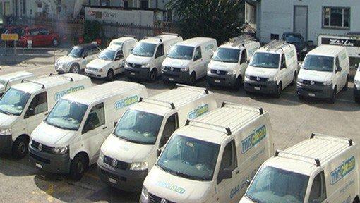 Autos für Umzugsreinigung von Reinigungsfirma
