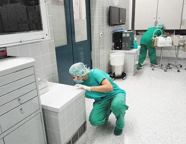 Professionelle Spitalreinigung klinikreinigung
