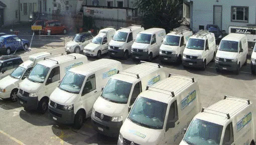 Reinigungsfirma Zürich Autos für Umzugsreinigung Zürich