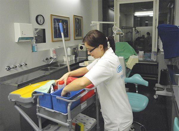 Büroreinigung Zürich durch Reinigungsfirma mr.clean