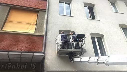 Fensterreinigung von professionelle Reinigungsfirma