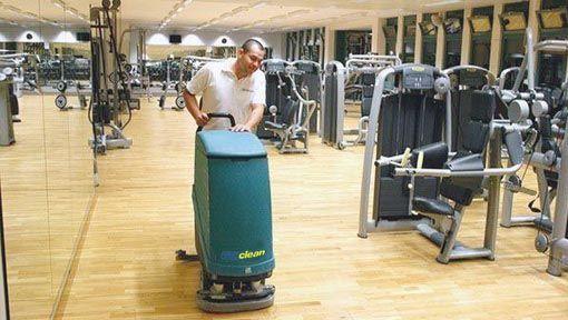 Reinigungsfirma bei Reinigung Fitnesscenterreinigung