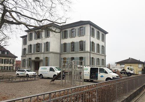 Gebäudereinigung Zürich und Basel