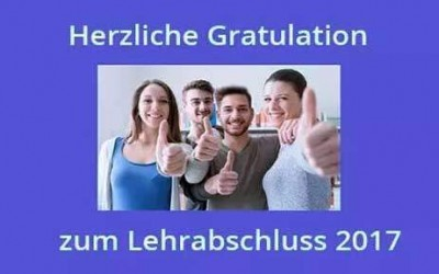 Lehrabschluss Prüfungen 2017