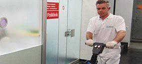 Reinigungfirma bie Unterhaltsreinigung Poliklinik