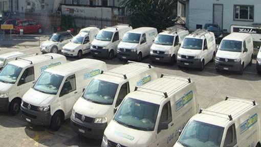 Reinigungsfirma Fahrzeuge für Umzugsreinigung