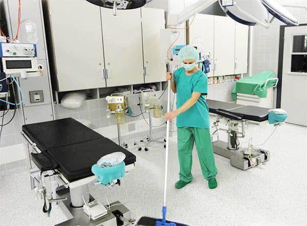 Spital reinigung und Reinraum