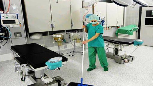 Spitalreinigung und Reinraumreinigung