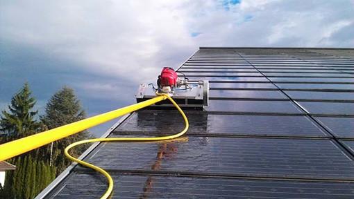 Spezialreinigung Roboter Solarreinigung