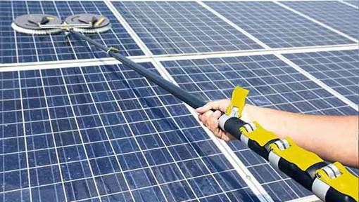 Spezialreinigung photovoltaik Solar Reinigung