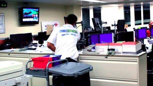 Die Büroreinigung als Unterhaltsreinigung